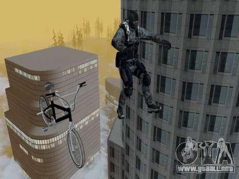Cell para GTA San Andreas sexta pantalla
