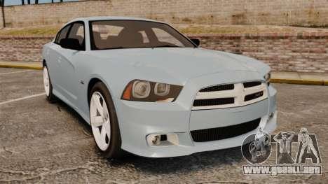 Dodge Charger 2012 para GTA 4