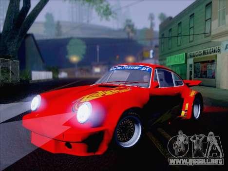 Porsche 911 RSR 3.3 skinpack 6 para la visión correcta GTA San Andreas