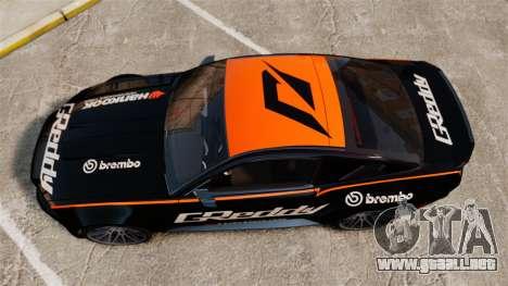 Ford Mustang GT 2013 NFS Edition para GTA 4 visión correcta