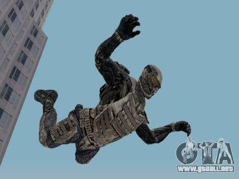 Nano-traje Coreano de Crysis para GTA San Andreas tercera pantalla