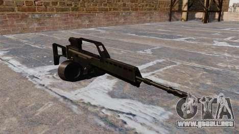Rifle de asalto HK MG36 para GTA 4
