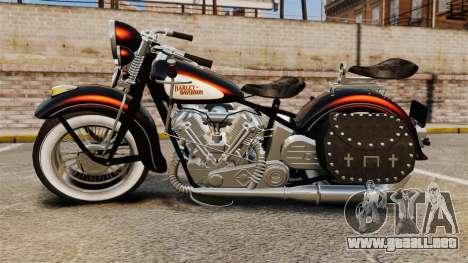 Harley-Davidson Knucklehead 1947 para GTA 4 visión correcta