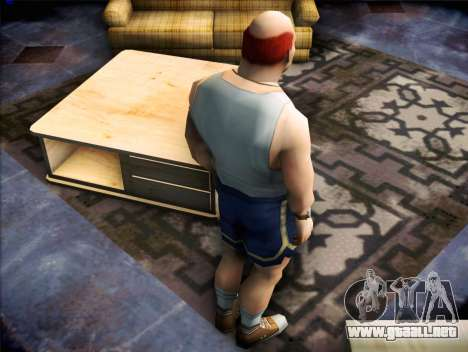 El entrenador del Bully para GTA San Andreas tercera pantalla