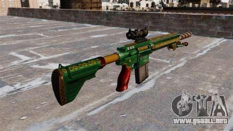 Rifle HK417 para GTA 4 segundos de pantalla