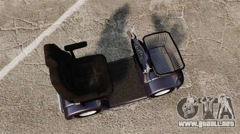 Funny Electro Scooter para GTA 4 visión correcta