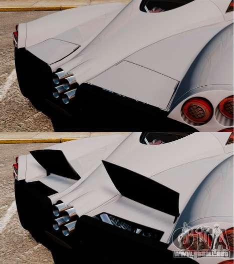 Pagani Huyara [EPM] para GTA motor 4