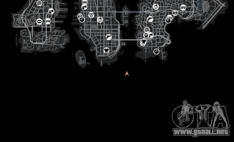 Ubicación de Shibuya para GTA 4 décima de pantalla