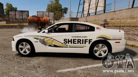 Dodge Charger RT 2012 Slicktop Police [ELS] para GTA 4 left