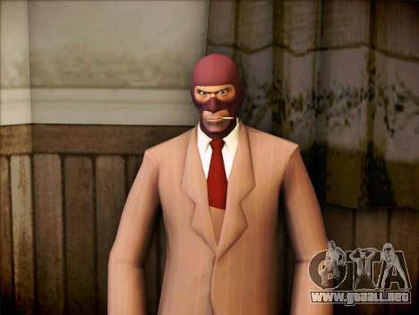 Espía de Team Fortress 2 para GTA San Andreas