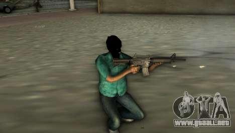 Carabina M4 para GTA Vice City segunda pantalla