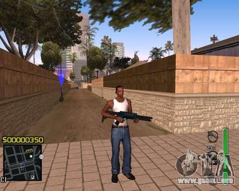 C-HUD v1 para GTA San Andreas
