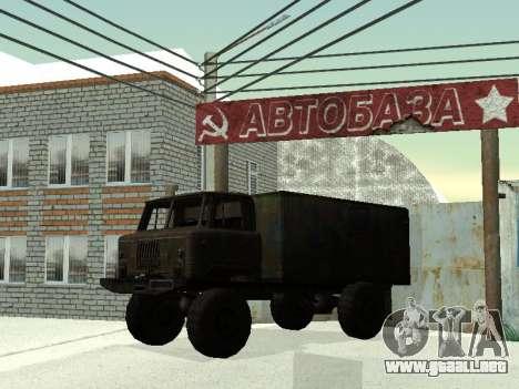 GAZ 66 para la vista superior GTA San Andreas