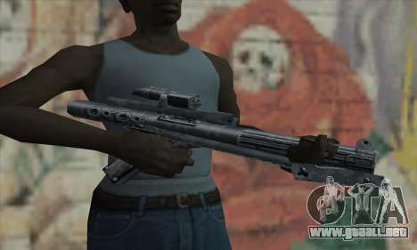 Rifle de Star Wars para GTA San Andreas tercera pantalla