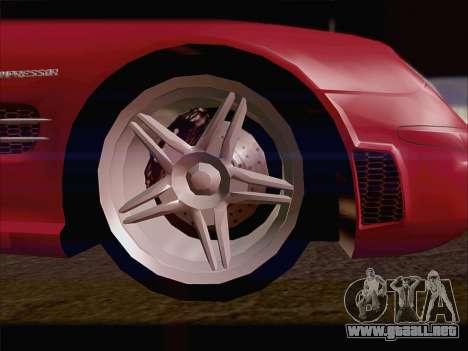 Mercedes SL500 v2 para la visión correcta GTA San Andreas