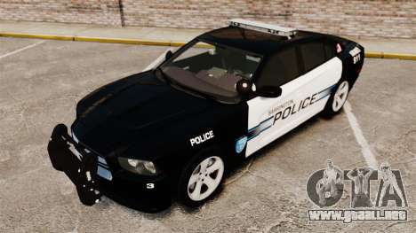 Dodge Charger RT 2012 Police [ELS] para GTA 4 vista interior