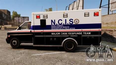 Brute NCIS [ELS] para GTA 4 left