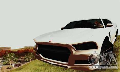 Búfalo de GTA V para las ruedas de GTA San Andreas