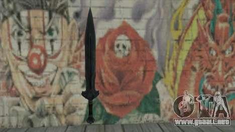 La espada imperial para GTA San Andreas
