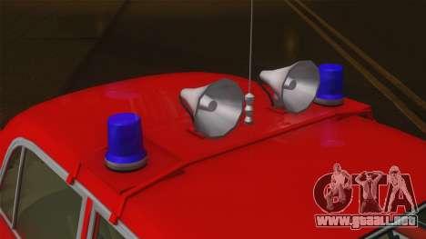 VAZ 21011 proteccion contra el fuego para GTA San Andreas vista hacia atrás