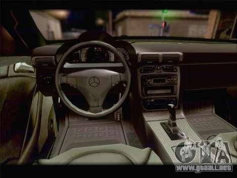 Mercedes SL500 v2 para la vista superior GTA San Andreas