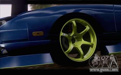 Nissan 240sx drift para GTA San Andreas vista posterior izquierda