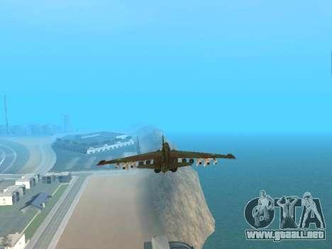 Su 25 para vista lateral GTA San Andreas