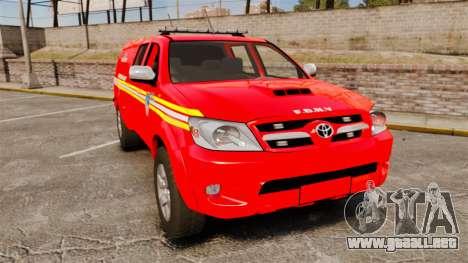 Toyota Hilux FDNY [ELS] para GTA 4