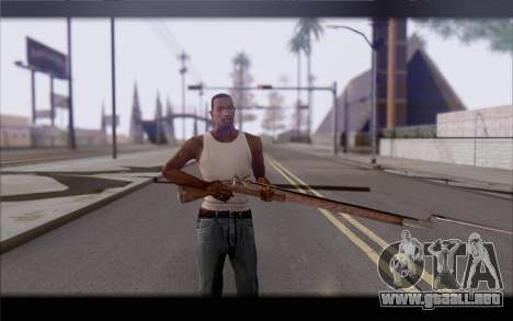 Mosquete para GTA San Andreas tercera pantalla