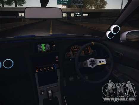 Nissan Skyline R34 FnF para visión interna GTA San Andreas