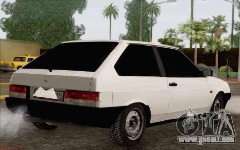 VAZ 2108 Taxi para GTA San Andreas left