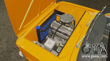 VAZ-2101 tuning para GTA 4 vista interior