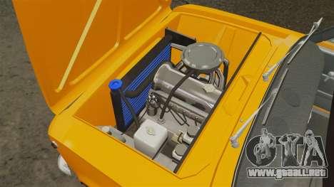 VAZ-2101 tuning para GTA 4 vista interior