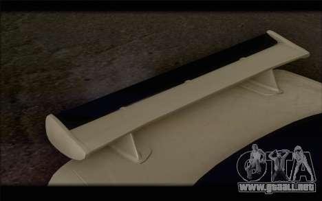 Nissan Skyline R34 Z-Tune para la visión correcta GTA San Andreas