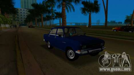 AZLK 2140 para GTA Vice City vista posterior