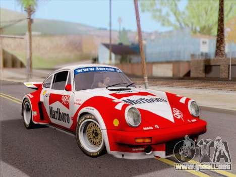 Porsche 911 RSR 3.3 skinpack 4 para la visión correcta GTA San Andreas