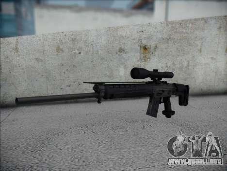 Rifle de francotirador HD para GTA San Andreas