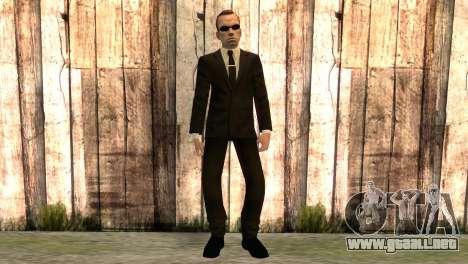 Smith, de la matriz de la película para GTA San Andreas