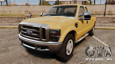 Ford F-350 Super Duty 2011 para GTA 4