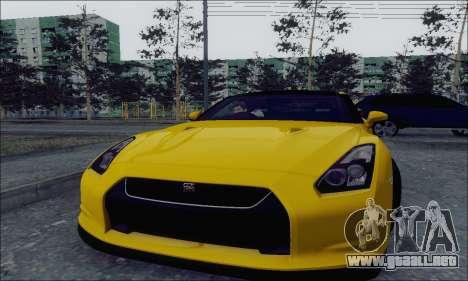 Nissan GT-R Spec V para GTA San Andreas left