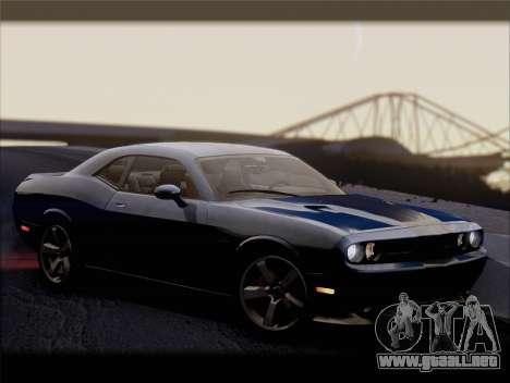 Dodge Challenger SRT8 2012 HEMI para la vista superior GTA San Andreas
