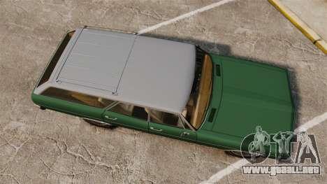 Classique Cruiser para GTA 4 visión correcta
