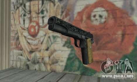 Colt 45 fuera de la oscuridad 2 para GTA San Andreas