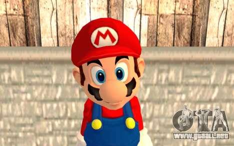 Mario para GTA San Andreas tercera pantalla