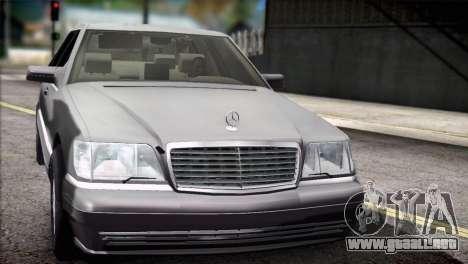 Mercedes-Benz S600 V12 V1.2 para GTA San Andreas
