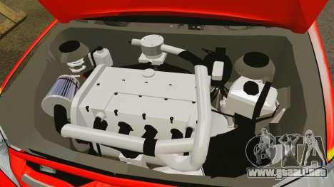 Toyota Hilux FDNY v2 [ELS] para GTA 4 vista interior