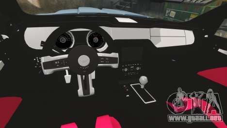 Ford Mustang GT 2013 Widebody NFS Edition para GTA 4 vista lateral