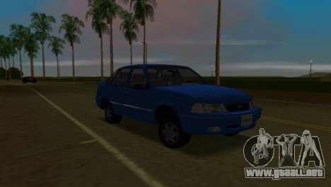 Daewoo Cielo para GTA Vice City visión correcta