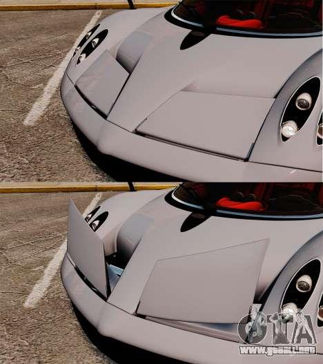 Pagani Huyara [EPM] para GTA 4 interior