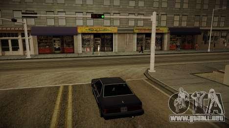 GTA HD Mod 3.0 para GTA San Andreas segunda pantalla